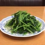 上海料理 富春 - 青菜炒め