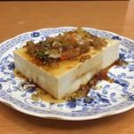上海料理 富春 - 冷奴