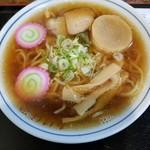 あけぼの食堂 - 料理写真:正油ラーメン 600円