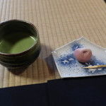 時雨亭 - 抹茶(生和菓子付き)