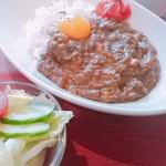 濱司×HAMAJI - 鶏豚ミックスドライキーマカレー