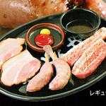 お好み焼き 道とん堀 - 豚三種盛り レギュラー