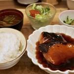 京ごはんふわっとふわっと - 魚膳  天然ブリの照り焼き