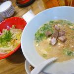 77913671 - タンメン野菜と白丸の豆腐バージョン