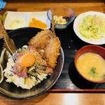 釣りあじ食堂 - アジめし(800円)
