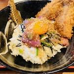 釣りあじ食堂 - 釣りあじ食堂オリジナル丼!