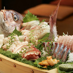 ちゃんこ芝松 - 料理写真:船盛り