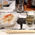 寛屋 - サラダ・ご飯・お味噌汁