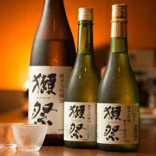 ちゃんこ鍋には日本酒!季節ものや獺祭など種類豊富に揃えました