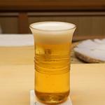 木山 - 生ビール