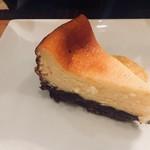 オステリア オリーヴァ ネーラ トウキョウ - リコッタチーズケーキ