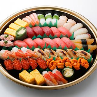 ご自宅で!板前寿司をお楽しみいただけます!