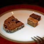 バー ドラス - シュトーレンとスコットランド ファッジのアールグレー味とチョコレート味