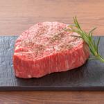 听屋焼肉 - 料理写真:黒毛和牛 赤身肉 300g