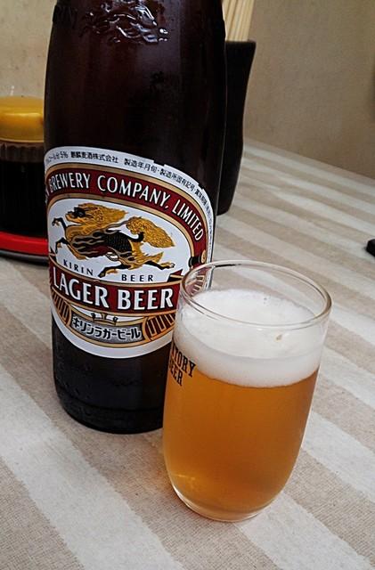 森田食堂 - 『音』を味わった瓶ビール。