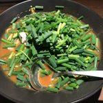 かれー麺 実之和 - 「カレー麺(並盛)」750円+「そりゃ盛りすぎだろ!ネギ」150円