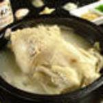韓喰 - 【参鶏湯(サムゲタン)】要予約