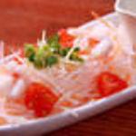 韓喰 - しろマヨネーズと海老のサラダ