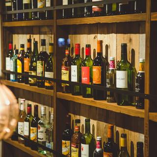 こだわりワインからカフェ系まで豊富なドリンク