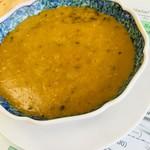 メハク ハラル フーズ - 豆カレーのアップ。素朴な味わいのカレー。