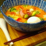 SOBA DINING QUATTRO(ソバダイニング クワトロ) - レンゲとお箸がトレイにフィットin♡(笑)