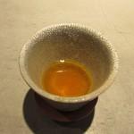 erre - 「循環のスープ」丹波の無農薬の野菜と水、葉脈のチップス