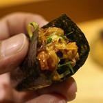 たく庵 - 納豆と焼き海苔