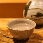 たく庵 - 田酒 特別純米 温燗