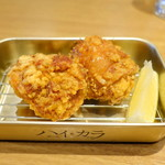 鶏千 - から揚げニンニク、醤油
