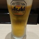 立ち寿し しおや  - 生ビール