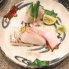 酒肴結 さかぐち - 料理写真:クエとマナガツオの刺身