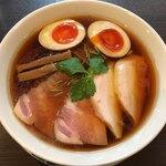 らぁ麺 紫陽花 - 特製醤油らぁ麺