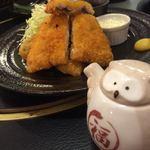 沼袋浜横丁 - アジフライと可愛い醤油さし