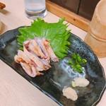 鳥金 - 地鶏のタタキ 700円