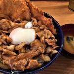 キッチン男のロマン - スタミナ野郎丼(にんにくミックス)税込880円