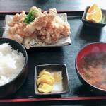 鳥みつ - 唐揚げ定食C  ¥530