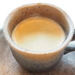Restaurant Pigeon - ランチコース 3780円 のコーヒー