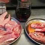 ハモ肉 - 赤ワインと希少部位のオンパレード!
