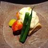 馳走 とし藤 - 料理写真:秋野菜の白酢がけ