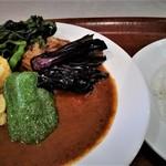 SHIP'S LOG - スープ(ルー)と、ご飯は別々に供されます。