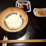 馳走 とし藤 - ご飯♡