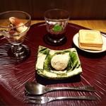 馳走 とし藤 - デザート(全種類オーダー)