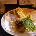 吾作 - きす天ぷら。旨い。
