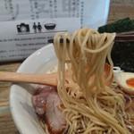 77937978 - 特製醤油らあめん④:麺
