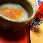 そば庄出雲 - モチロン蕎麦湯には七味(^^)