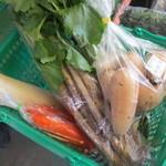 道の駅 ながら - 料理写真:本日の購入品!