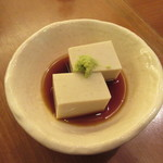手打ち蕎麦 やなか - 手作り「そばとうふ」(ハーフサイズ)