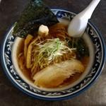 ラーメン くるのや - 料理写真:鶏ガラあっさり醤油(540円)