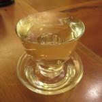 手打ち蕎麦 やなか - 冷酒のスタイル