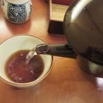 手打ち蕎麦 やなか - 自然体の蕎麦湯